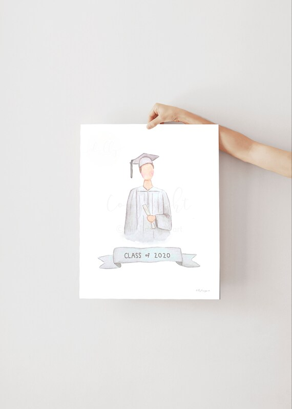 Class of 2020, Printable Grad Gift, Boy Graduate, Boy Graduation Gift, High School Grad, 2020 Graduate, Graduation Gift, Congrats Grad, 2020