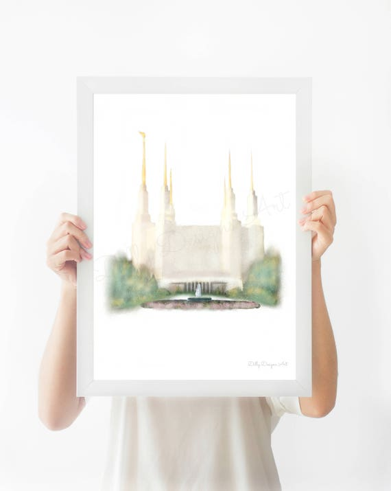 Washington DC Temple, DC Temple, DC Lds Temple, Washington Temple, Dc Temple Wall Art, Dc Temple Print, Washington Dc Print, Lds, Washington
