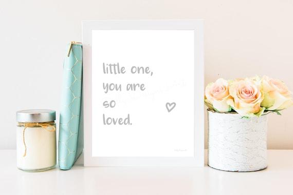 You Are so Loved, You Are So Loved Print, You Are So Loved Wall Art, So Loved Poster, You Are Loved Printable, You Are Loved, So Loved Print