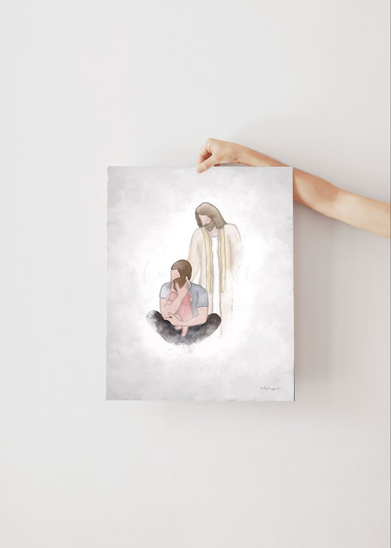 Dad Holding Baby, Greeting In Heaven, In Loving Memory, Angels In Heaven, Bereavement Art, Husband Memorial, Baby Memorial, Dad Memorial,Man