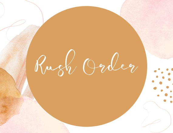 Rush For Custom Artwork