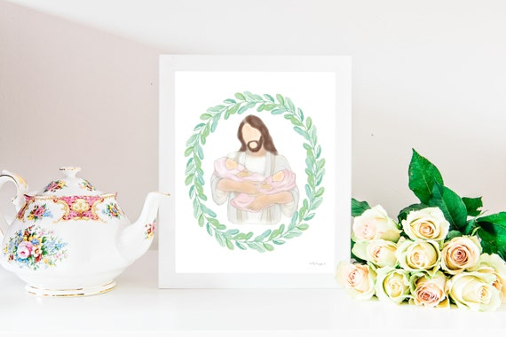 Loss of Multiples, Memorial Printable, Grief Printable, Christian Printable, Church Printable, Jesus Christ Printable, Babies With Christ