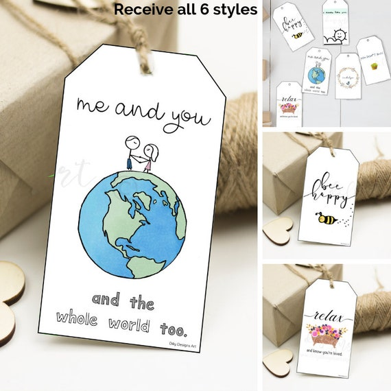 Gift Tags, Printable Tags, Printable Gifts, Gift Tag, Present Tags, Gift Wrapping, Valentines Tags, Valentines, Gift Tag Pack, Printables