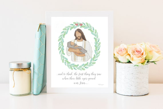 Misscarriage Gift, Child Funeral, Child Death, Child Loss, Infant Death, Infant Loss, Christ With Child, Funeral Art, Wake Service,