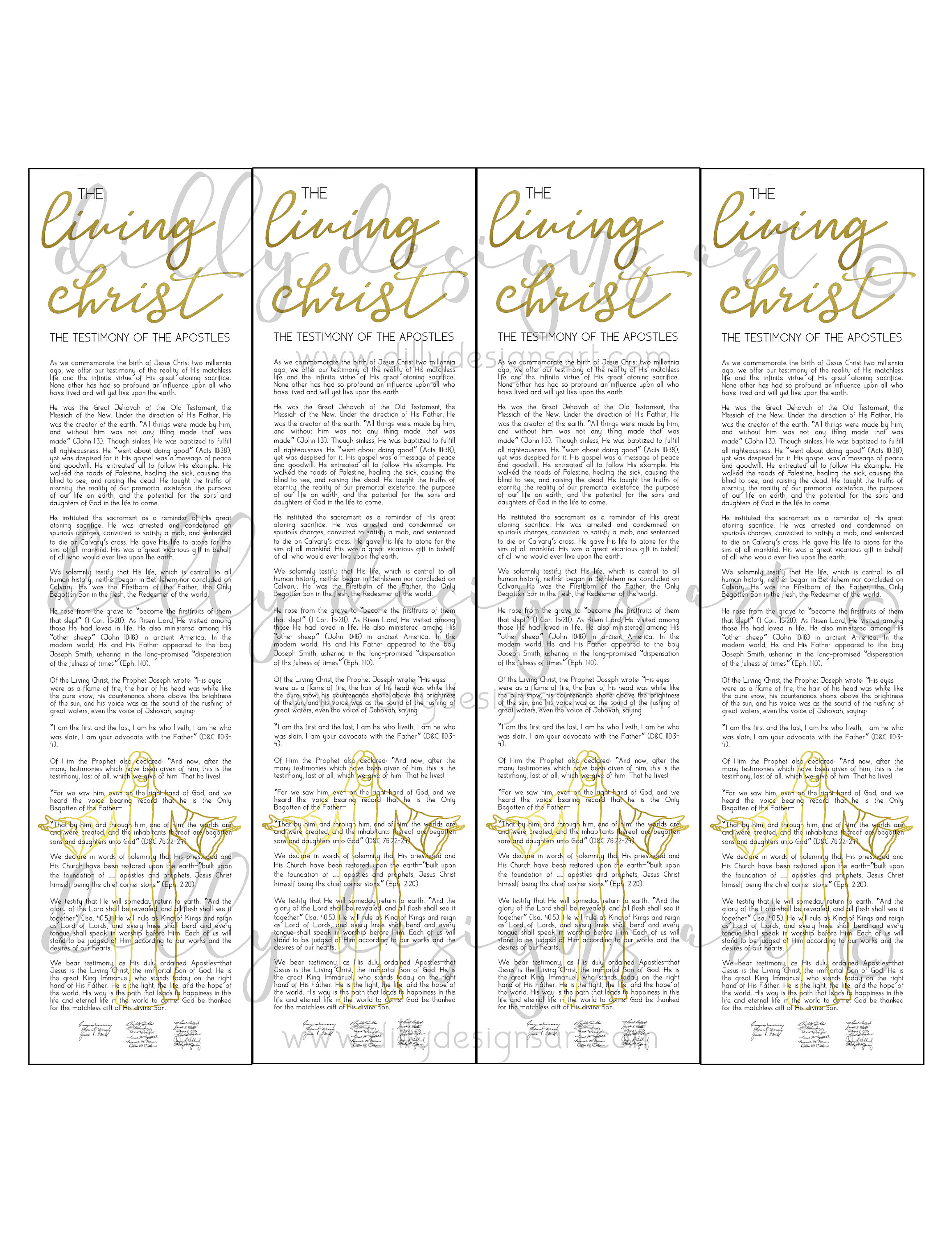 picture about Who I Am in Christ Printable Bookmark called Residing Christ, Bookmark , Bookmark Printable, Christ