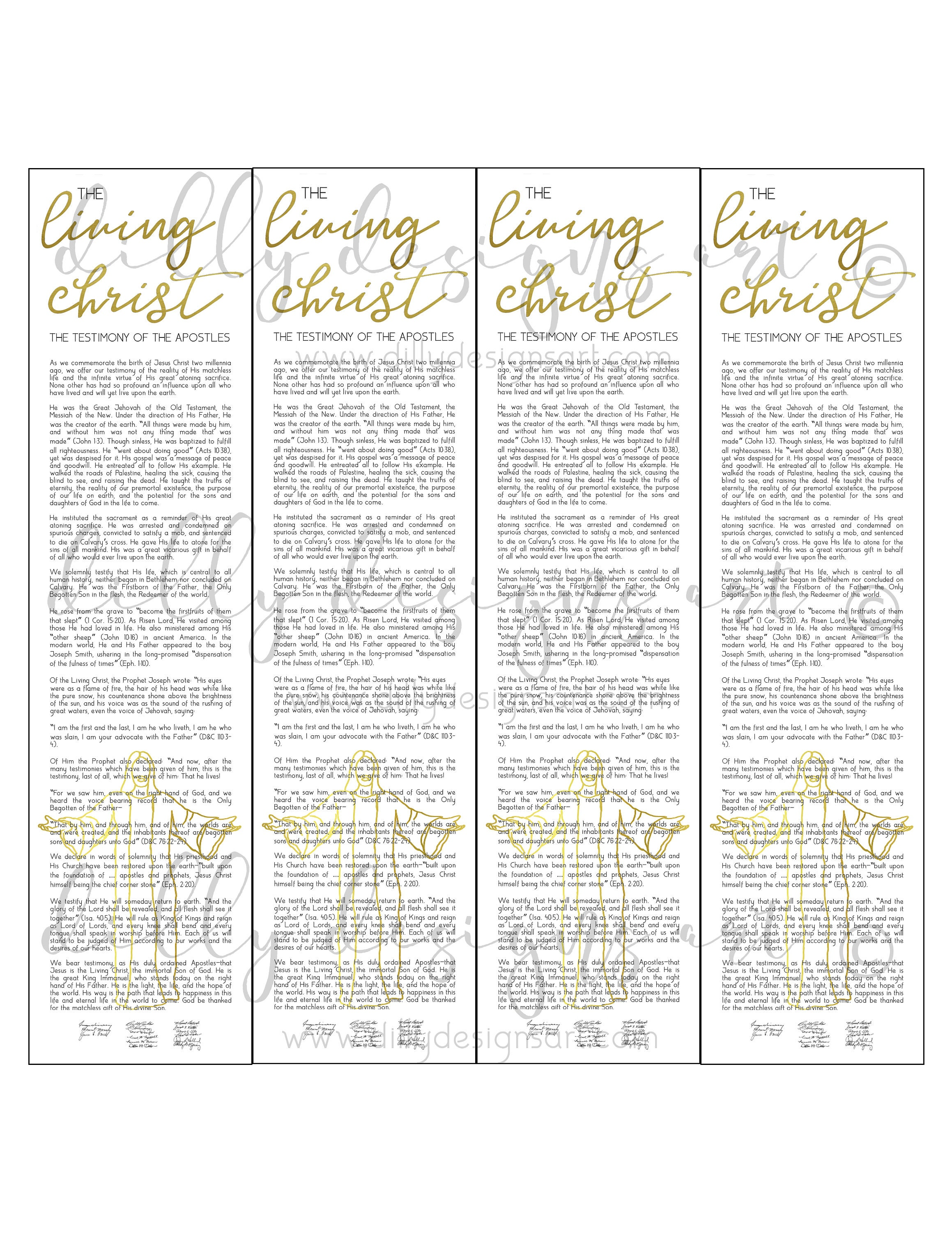 photo relating to Who I Am in Christ Printable Bookmark titled Residing Christ, Bookmark , Bookmark Printable, Christ