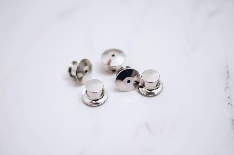 Locking Pin Backs / Pin Keepers