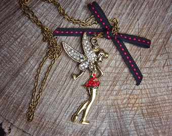 Tinker Bell Necklace ~1 pieces #100434