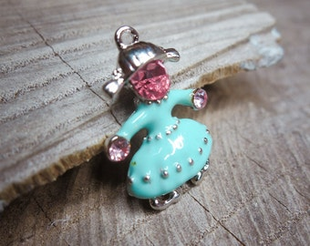 Girl Pendant Charms ~1 pieces #101003