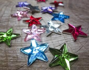 Star Applique ~14 pieces #100518