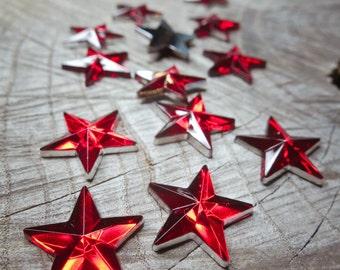 Star Applique ~14 pieces #100516
