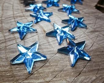 Star Applique ~14 pieces #100515