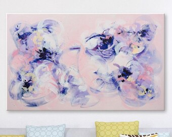 Original abstract painting Large Wall art Abstract art Abstract wall art Painting on Canvas Art Modern artwork Contemporary Pastel painting