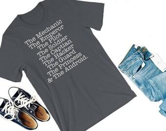 Lunar Squad Shirt--The Lunar Chronicles, Marissa Meyer, Cinder, Scarlet, Cress, Winter, Lunar Squad, Cinder shirt, Kai, Iko, bookish shirt
