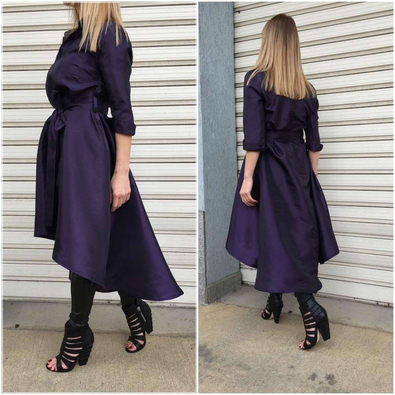 Oversized Tunic Top  Loose Asymmetric Tunic Dress  Extravagant Dress  Maxi Dress  EXPRESS SHIPPING  Sweet Symphony