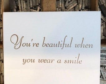 When Youre Smiling Etsy