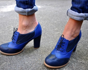 Women S Custom Oxfords Amp Boots By Juliaboshoes On Etsy