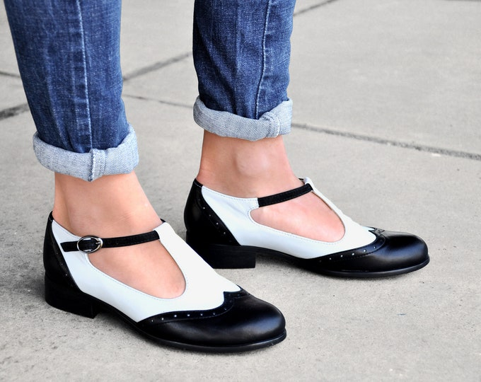 Custom Shoes Jane Leather Mary Jane FREE customization!!! Womens Mary Janes Vintage Shoes Brown Mary Jane shoes