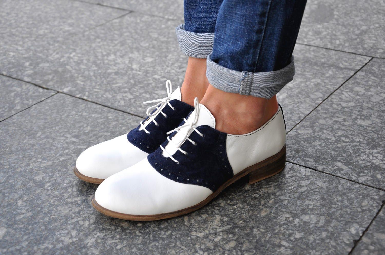 selle -  classique s cuir vintage classique  oxford, chaussures faites à la main, des chaussures, des chaussures blanches, les chaussures, les chaussures, libre adaptation!! 6381fe