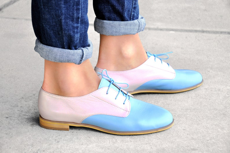 Necker Womens Brogues Leather Oxfords