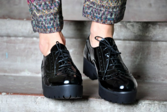 2bcd376f063 Soho Platform Oxfords Oxfords for Women Creepers Womens