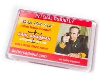 Saul goodman etsy breaking bad better call saul fridge magnet colourmoves