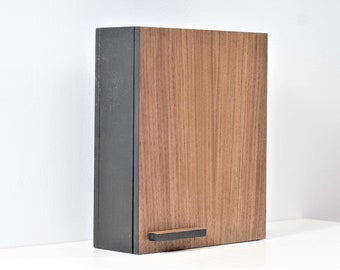 Charmant Key Box, Key Cabinet Walnut   Black Box + Walnut