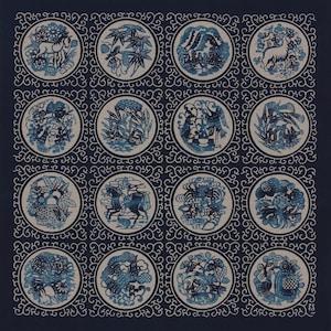 Details about  /Furoshiki Japanese Polyester Fabric Wrapping Cloth Gift Keisuke Serizawa 70cm