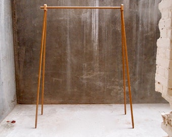 KL.1 The Clean Lines - Clothes Rack, Modern Clothes Stand, Minimal Clothes Stand, Kleiderständer,