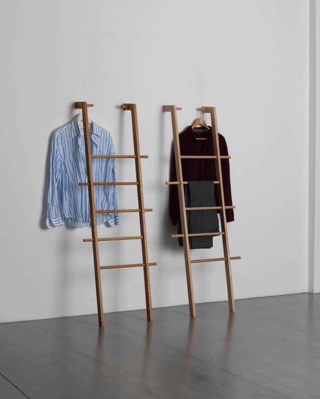 echelle de vêtements tb.3.2 kleiderleiter holzleiter | etsy