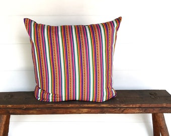 Boho Peruvian Euro pillow cover