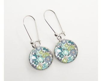 Liberty cabochon earring