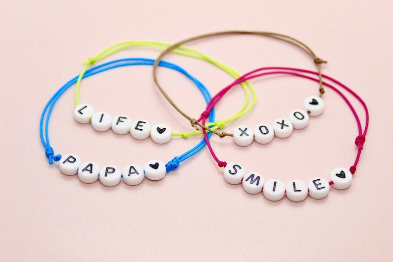 Cordon White Pearls customizable bracelet  Customizable pearl image 0