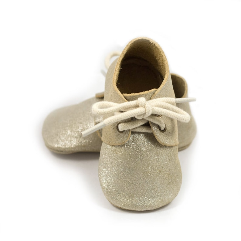 045b9d9b8280b Silver gold sparkle baby shoes, baby mocs, gold moccasins for baby girls,  crib shoes, baby girl birthday shoes, baby shower gift