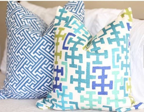Richloom Sinclair Pillow Covers Dorothy Draper Inspired