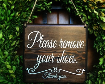 Please remove your Shoes Sign    Remove Shoes Sign   No Shoes Door Signs   Front Door Signs   Remove Shoes Door Sign   Take off shoes sign