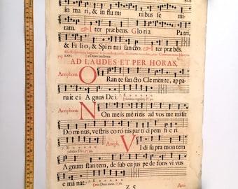 Gregorian chant | Etsy