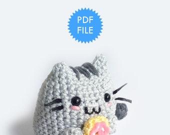 Amigurumi cat pattern crochet