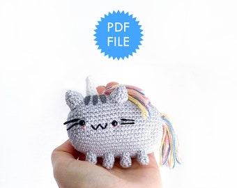 Kittycorn - Amigurumi Pattern Instructions - pdf file
