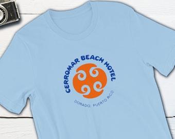 Vintage Travel Sticker - Cerromar Beach Hotel Dorado Puerto Rico Vintage Travel T-shirt Retro Luggage Label Caribbean Resort