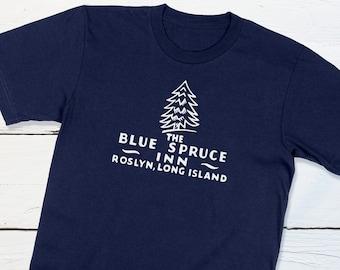 Vintage Long Island Shirt - Blue Spruce Inn Roslyn Long Island New York Vintage Matchbook Retro Americana Fifties Hotel