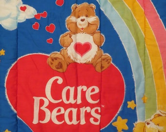Vintage Care Bears sleeping bag
