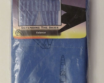 "Vintage ""Defending the Skies"" Valance -New in package"
