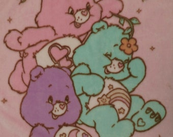 Care Bears Plush crib blanket