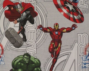 The Avengers Twin flat sheet