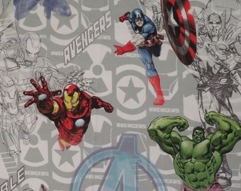 Avengers Assemble Twin flat sheet