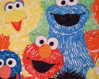 Sesame Street toddler comforter