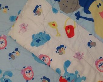 Vintage Blue's Clues Twin comforter