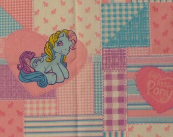 My Little Pony fabric from 2004- over a yard