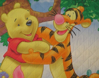 Winnie the Pooh toddler comforter